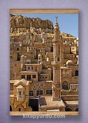 Full Frame Kanvas Poster - Mardin ve Şehidiye Camii Sapelli (FFS-DI03)