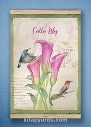 Full Frame Kanvas Poster - Lily- WHITE FRAKE (FFW-BC08)