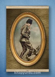 Full Frame Kanvas Poster - Atatürk Kocatepe'de 1922 White Frake (FFW-TR04)