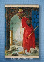 Full Frame Kanvas Poster - Kaplumbağa Terbiyecisi - WHITE FRAKE (FFW-TS04)