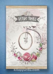 Full Frame Kanvas Poster - Retro Times White Frake (FFW-RET04)