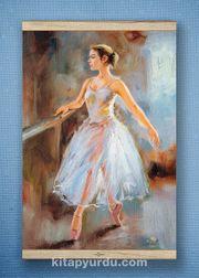 Full Frame Kanvas Poster - Balerin - WHITE FRAKE (FFW-DM04)