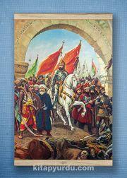 Full Frame Kanvas Poster - Fatih'in İstanbul'u - WHITE FRAKE (FFW-TR08)