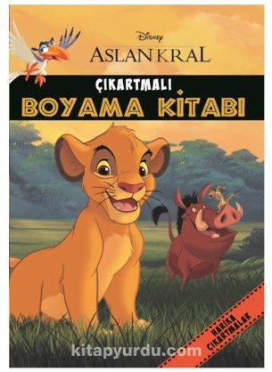 Disney Aslan Kral Çıkartmalı Boyama Kitabı - Kollektif pdf epub
