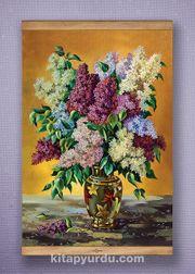 Full Frame Kanvas Poster - Leylaklar Vazosu Sapelli (FFS-NT03)