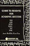 Guide To Reading For Academic Success YDS, ÜDS, KPDS, TOEFL, SAT, GRE