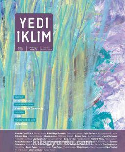 7edi İklim Sayı:352 Temmuz 2019 Kültür Sanat Medeniyet Edebiyat Dergisi