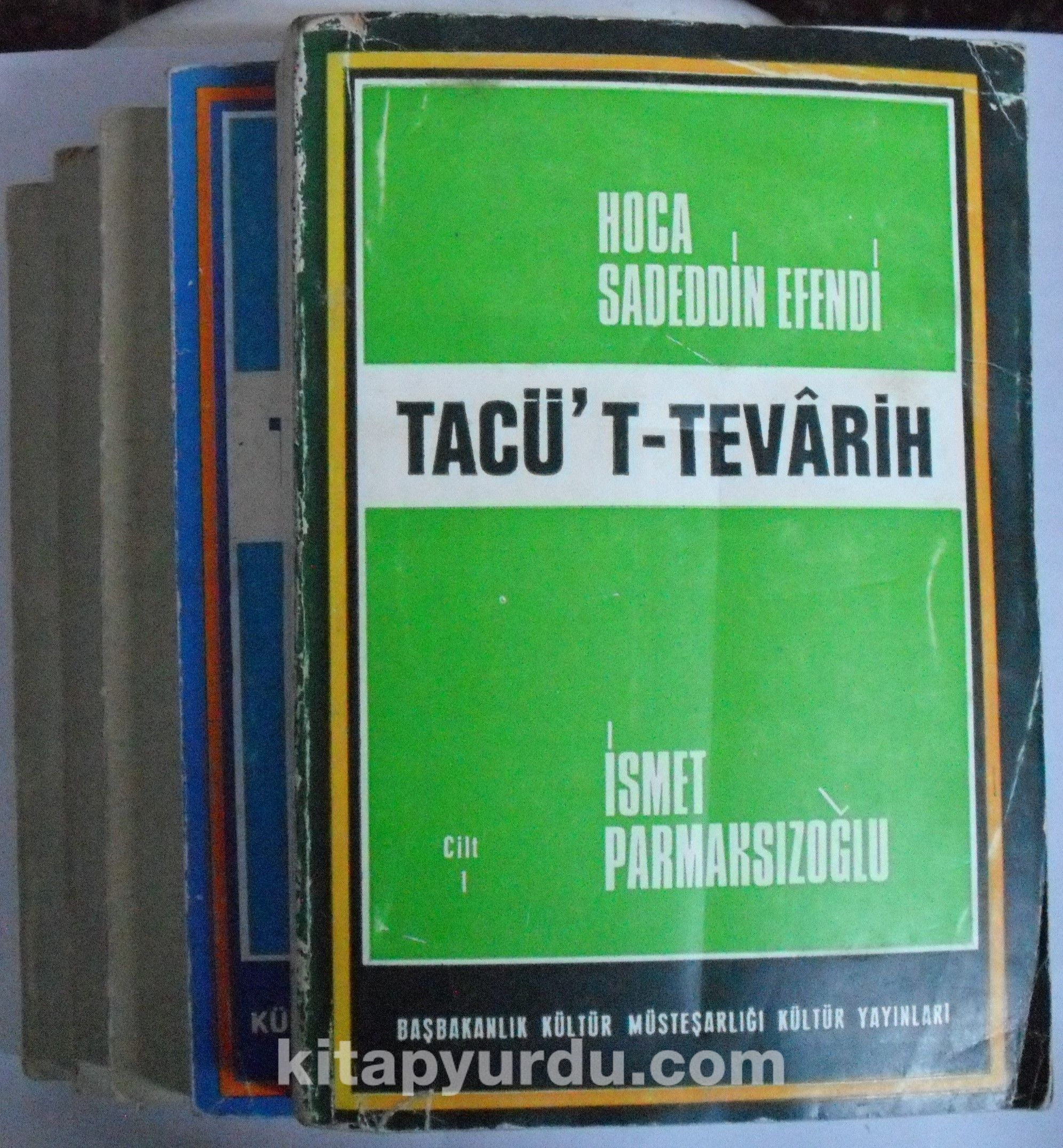 Tacü't-Tevarih (5 Cilt Takım) Kod:6-G-38