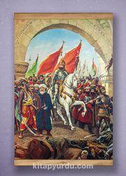 Full Frame Kanvas Poster - Fatih'in İstanbul'u Sapelli (FFS-TR07)