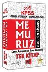 2020 KPSS Memuruz Lise - Ön Lisans Genel Yetenek Genel Kültür Konu Anlatımlı Soru Çözümlü Tek Kitap