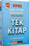 2020 KPSS Genel Yetenek Genel Kültür Konu Anlatımlı Tek Kitap Pratik Bilgiler - Özgün Sorular