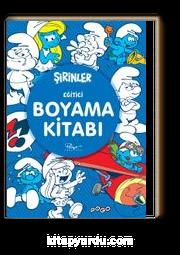 Sirinler Egitici Boyama Kitabi Peyo Kitapyurdu Com
