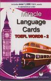 Miracle Language Cards - TOEFL Words 2