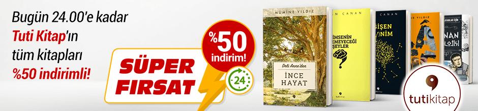 Bugüne Özel Tuti Kitap %50 indirimli!