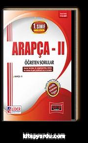 1. Sınıf Bahar Dönemi Arapça II Öğreten Sorular (Kod:112-ARP)