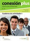 Conexión Plus 1 Cuaderno de Actividades B1-B2 (İş İspanyolcası Orta Seviye Çalışma Kitabı)