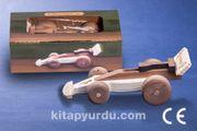 Montessori Ahşap Zeka Oyunları / w-Racing Car
