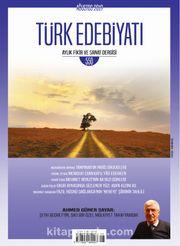 Türk Edebiyatı Aylık Fikir ve Sanat Dergisi Sayı: 550 Ağustos 2019