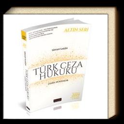 Türk Ceza Hukuku Genel Hükümler / Altın Seri