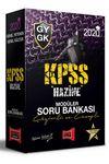 2020 KPSS Genel Yetenek Genel Kültür Hazine Çözümlü ve Cevaplı Modüler Soru Bankası Seti