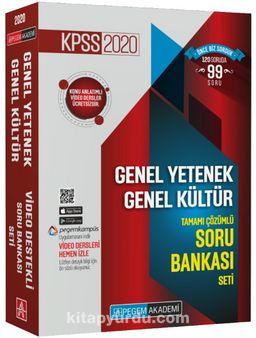 2020 KPSS Genel Yetenek Genel Kültür Tamamı Çözümlü Soru Bankası Seti (5 Kitap)