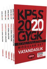 2020 Genel Kültür Genel Yetenek Konu Anlatımlı Modüler Set (5 Kitap)