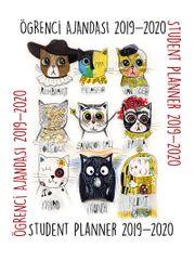 Panter Cats Student Planner 2019-2020 Öğrenci Ajandası (Kod:3054)