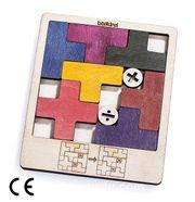 Montessori Ahşap Zeka Oyunları / w-Sliding Puzzle 1