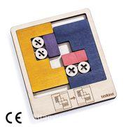 Montessori Ahşap Zeka Oyunları / w-Sliding Puzzle 2