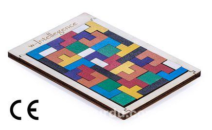 Montessori Ahşap Zeka Oyunları / w-Intellegence