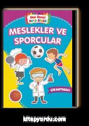 Okul Öncesi Boya-Öğren / Meslekler ve Sporcular