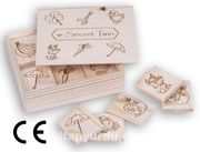 Montessori Ahşap Zeka Oyunları / w-Secret Twin