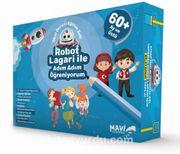 Robot Lagari İle Adım Adım Öğreniyorum 60 + Ay Ve Üstü (9 Kitap)