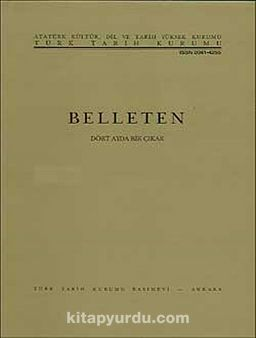 Belleten Cilt:XXII-Sayı:87 Temmuz 1958