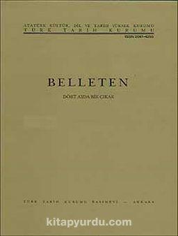 Belleten Cilt:XXII-Sayı:86 Nisan 1958