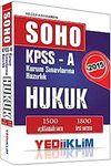 2015 SOHO KPSS-A Hukuk Soru Bankası / Kurum Sınavlarına Hazırlık