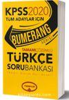 2019 KPSS Genel Yetenek Bumerang Tamamı Çözümlü Türkçe Soru Bankası