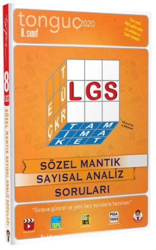 8.Sınıf LGS Sözel Mantık Sayısal Analiz Soruları - Kollektif pdf epub
