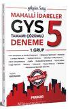 2019 Mahalli İdareler GYS 1.Grup 5 Çözümlü Deneme Sınavı