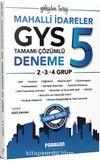 2019 Mahalli İdareler GYS 2. 3. 4. Gruplar İçin 5 Çözümlü Deneme Sınavı