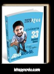 2020 KPSS Coğrafya 33 Deneme