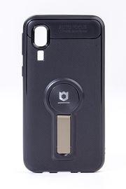 Telefon Kılıfı - Samsung Galaxy A2 Core  - Mat Siyah - Dore Ayaklı (TMS-042)