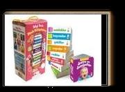 Bilgi Dolu Minik Kütüphanem (9 Kitap - İngilizce Destekli - Pembe Kutu)