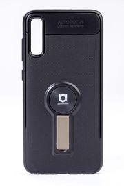 Telefon Kılıfı - Samsung Galaxy A70 - Mat Siyah - Dore Ayaklı (TMS-062)