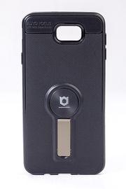 Telefon Kılıfı - Samsung Galaxy J7 Prime  - Mat Siyah - Dore Ayaklı (TMS-077)