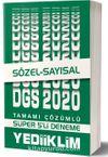 2020 DGS Sayısal Sözel Tamamı Çözümlü Süper 5'li Deneme