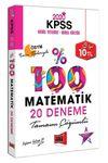 2020 KPSS Matematik Tamamı Çözümlü 20 Deneme