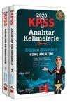 2020 KPSS Eğitim Bilimleri Anahtar Kelimelerle Konu Anlatımı (2 Kitap)
