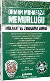 2020 Orman Muhafaza Memurluğu Mülakat ve Uygulama Sınavı Kitabı