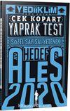 2020 ALES Sayısal Sözel Yetenek Çek Kopart Yaprak Test